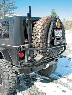 all terain tires for jeep wrangler jk   2007 Jeep Wrangler Jk X Model Buildup Tire Carrier