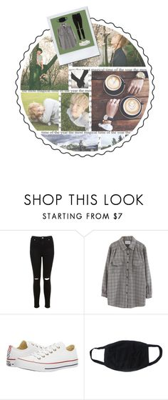 """""""[ lets get coffee ]"""" by jibootycalls ❤ liked on Polyvore featuring Miss Selfridge, Chicnova Fashion and Converse"""