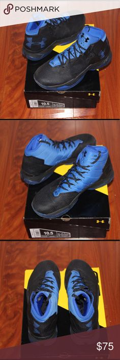 online store 2b6a7 74180 Black and Blue UA Curry 2.5 Worn a few times  in very good condition