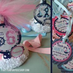 Nautical Birthday Party Decorations Package