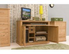 mobel oak hidden home office brand innovative hidden
