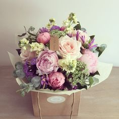 Shabby Chic by Lola Flower boutique - the ultimate soft, relazed and feminine style featuring Sweet Avalanche, Avalanche and Pearl Avalanche.