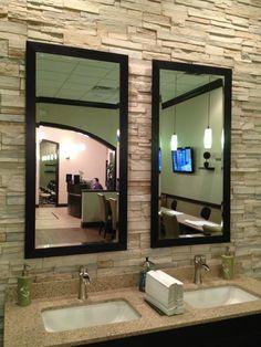 Manicure Room Spa Interior, Nail Spa, Envy, Manicure, Mirror, Bathroom, Furniture, Home Decor, Nail Bar