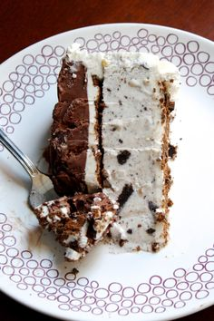 Chocolate Therapy: Ice Cream Cake