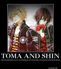 amnesia anime funny | Tags: Anime, AMNESIA, Shin (AMNESIA), Toma (AMNESIA)