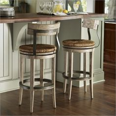 Kitchen Design Ideas And Picture Furniture Glittering Home Bars Bar Stools With Reclaimed Wood Stool Back Also Rattan Webbing Seat