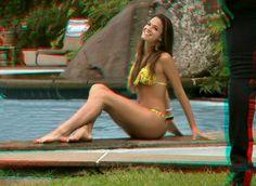 bruna marquezine, actriz, brasil | Flickr – Compartilhamento de fotos!, foto em 3d anaglifico, use oculos vermelho/ciano para ver