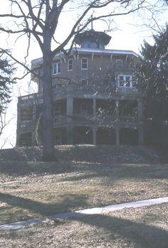 Octagon house plans home vintage blueprint design custom - Antique exchange home design baltimore md ...