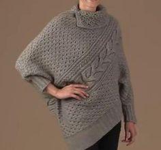 Asymmetrical Pullover von DenisesKnits auf Etsy