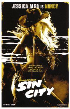 Jessica Alba in Sin City Jessica Alba Sin City, Jessica Alba Hot, Sin City Movie, Sin City 2, Tv Movie, Comic Movies, Dark Angel Tv Series, Jessica Alba Pictures, Anthology Film