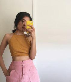 WEBSTA @ pameluft - pink corduroy nd heartz 4 pockets, I'm in love ty…