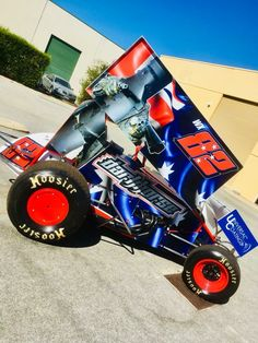 Sprint Cars Race Dirt Track Racing Tack Cool Wings Rolling Carts Drag Rally Car
