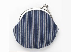coin purse in japanese indigo dyeing technique. how cute! i'm pinning them all!