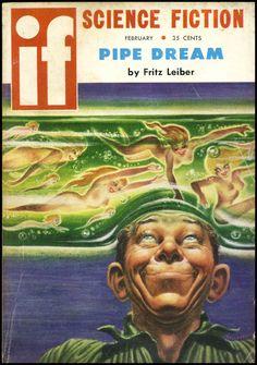 IF Science Fiction – 28 couvertures rétro de la science-fiction des années 50 – 60 | Ufunk.net