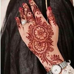Henna Tattoo Designs Gallery - Wedding Henna Designs for Brides Images collection. this is new collection wedding henna tattoo designs for bride Arabic Henna Designs, Mehndi Designs 2018, Mehndi Designs For Beginners, Bridal Henna Designs, Mehndi Design Photos, Unique Mehndi Designs, Mehndi Designs For Fingers, Dulhan Mehndi Designs, Beautiful Henna Designs