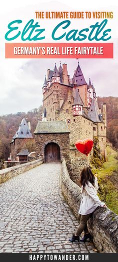 Burg Eltz Castle (Burg Eltz in German, Eltz Castle in English) is by far one of the prettiest fairytale castles in Germany. Click through for a comprehensive guide on visiting Burg Eltz Castle for yourself, including how to get there, what to do there and European Destination, European Vacation, European Travel, Europe Travel Tips, Travel Guides, Travel Destinations, North Rhine Westphalia, Burg Eltz Castle, Germany Castles