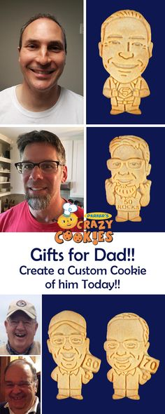 f1c2426ded30d Gifts for your Dad!! Create a custom cookie to celebrate your dad s special  birthday