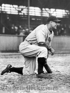 """""""And I might have been given a bad break, but I've got an awful lot to live for."""" ~ Lou Gehrig (7/4/39)"""
