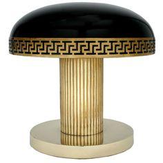 Antique, Vintage, Mid-Century and Modern Furniture - For Sale at - Art Deco Table Lamp. Lampe Art Deco, Art Deco Table Lamps, Art Nouveau, Art Deco Furniture, Modern Furniture, Luxury Furniture, Furniture Design, Retro, Art Antique