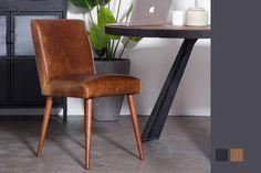 Vintage Lederstuhl Almar Dining Chairs, Dining Room, Vintage Cafe, Retro, Table, Design, Furniture, Home Decor, Asylum