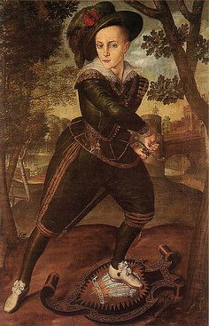 Henry, Prince of Wales, son of James I and Anne of Denmark. Mary Queen of Scots grandson.