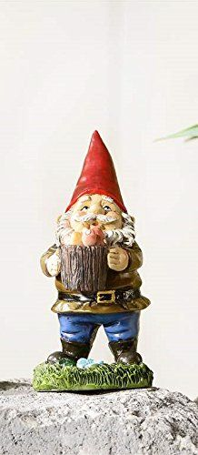 Giftcraft 4 Gnome Miniature Figurine Bucket *** This is an Amazon Associate's Pin. Details on product can be viewed on Amazon website by clicking the image.