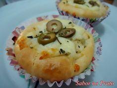 Cupcake de Frango – Uma super receita do Blog Sabor no Prato