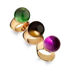 vhernier Re Sole rings