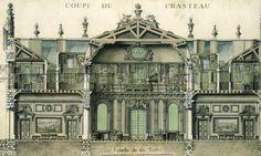 Рококо в архитектуре, Интерьеры дворца Марли