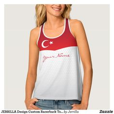 JERRILLA Design Custom Racerback Top Türkiye
