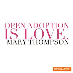 37 Ways of Looking At Open Adoption