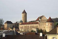 Le château de Porrentruy - Jura Swiss Switzerland, Mansions, House Styles, Pictures, Beautiful, Home Decor, Law School, Photos, Decoration Home