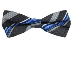 Slim - Self - Tie - www.buyyourties.com Bow Ties, Blue Grey, Fashion Accessories, Slim, Ties, Bowties, Tie Bow