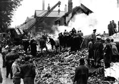 A village stood still this weekend to mark the 70th anniversary of the darkest day in its history.