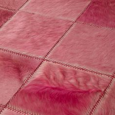 Whipstitch rugs -- Edelman Leather Home Decor Fabric, Upholstery, Fabrics, Flooring, Rugs, Pattern, Pink, Leather, Design