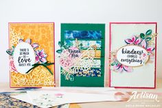 Love, Kayla: Abstract Impressions - Stampin' Up! Artisan Blog Hop