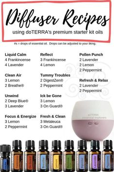 best essential oil diffuser recipes for sleep where to put essential oil for anxiety Essential Oil Spray, Essential Oils Guide, Essential Oil Diffuser Blends, Oregano Essential Oil, Doterra Essential Oils, Doterra Digestzen, Doterra Blends, Doterra Diffuser, Essential Oil Combinations