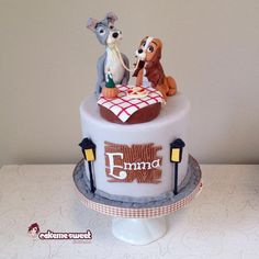 Lady and the tramp - Cake by Naike Lanza