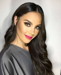 Celebrity Crush, Celebrity Style, Miss Philippines, Celebrity Makeup Looks, Wife And Girlfriend, Beauty Pageant, Celebs, Celebrities, Grey Fashion