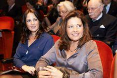 Sisters Princess Alexia and Princess Theodora of Greece 3/5/2014