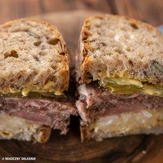 Prosty przepis na salceson wieprzowy - Blog kulinarny - Magiczny Składnik Sandwiches, Blog, Blogging, Paninis