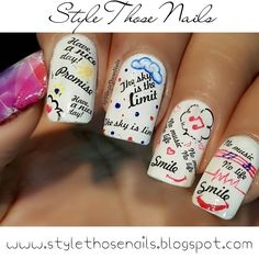 Style Those Nails: Water Decals Nailart- Lady Queen Nail Art Products Review PART2  http://www.ladyqueen.com/black-cursive-letters-nail-art-water-transfer-decals-stickers-diy-decorations-na0384.html