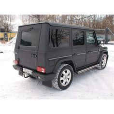 Starter Vehicle: Mercedes-Benz G500 (wrecked/totaled/repo) in matte black.