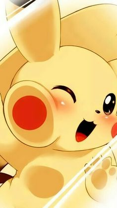 My Pikachu! My partner at the beginning, and I can always rely on my pikachu to go all out and stay strong in pokemon battles, and we see many things together. My pikachu is a level and she's a female pikachu as well! Love my pikachu with all my l Pikachu Pikachu, Pokemon Go, Pikachu Mignon, Female Pikachu, Pokemon Fusion, Pokemon Cards, Animes Wallpapers, Cute Wallpapers, Iphone Wallpapers