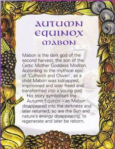 Autumn Equinox: Mabon