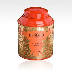 Hédiard Christmas Collection — Festive Tea and Coffee Tins   Lovely Room