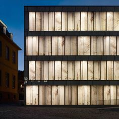 The Folkwang Library by Max Dudler in Essen, Werden, Germany