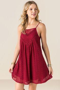 Ginny Lace Shift Dress