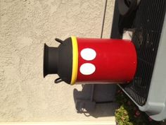 What else would I paint on an old milk can!