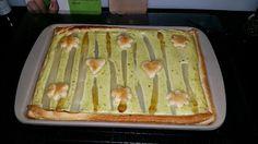 Steffi's Steine-Küche: 24.05.15 Spargel-Tarte im Ofenzauberer